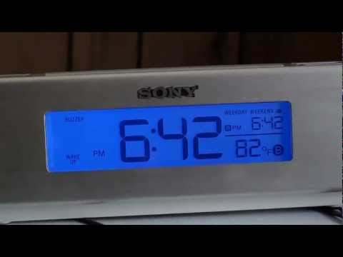 Review: SONY Dream Machine ICF-C717PJ Alarm Clock Radio