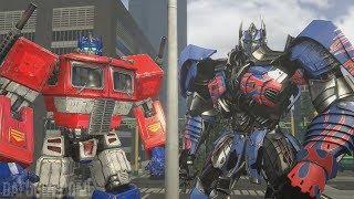 Transformers Optimus Prime Compilation of Animations (SFM)