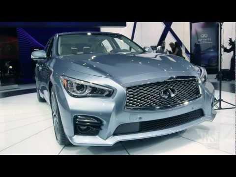 Infiniti Q50 Hybrid Sedan - NY Auto Show