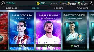 ABRIENDO SOBRES EN FIFAMOBILE ||PACK OPENING ELITE IN A PACK