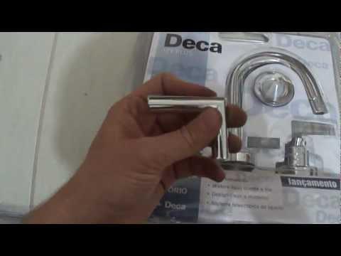 DECA - problema de qualidade na embalagem - perda de peça de torneira
