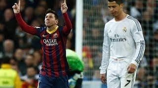 Real Madrid vs Barcelona 3-4 | El Clasico 2014 | La Liga 2013/2014 | All Goals & Highlights