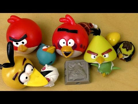 Angry Birds MASH'EMS KNEX STAR WARS 1+2