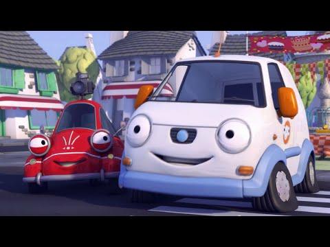 Олли Веселый грузовичок - Мультики про машинки - Серия 34 - Сенсация в Бамптоне (Full HD)