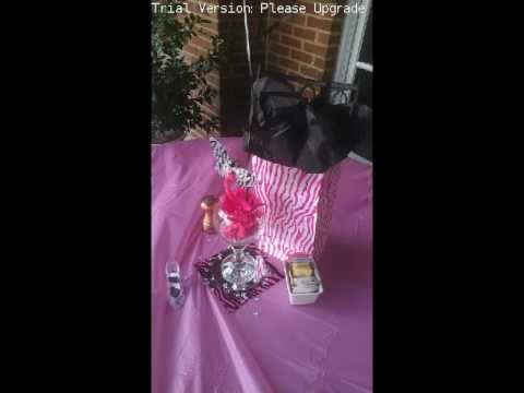 Zebra Hot Pink & Black Party Decor
