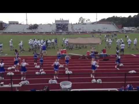Burke county middle school cheerleaders