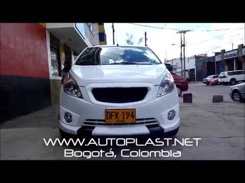 Spark GT Matiz M300 Body Kit tuning Colombia