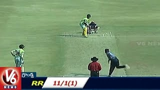 Khammam Tiraa Wins On Kakatiya Kings | Telangana T-20 League Round 3