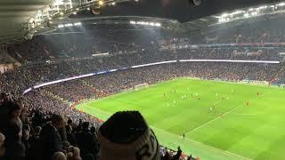 Manchester City vs Liverpool fans celebration