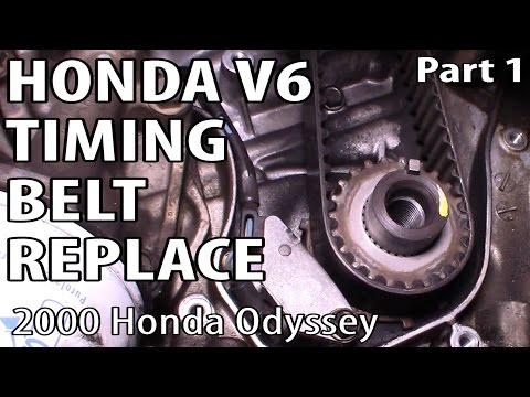 Honda Accord Odyssey Element V6 Timing Belt Replacement Part 1