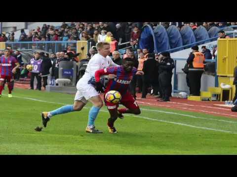 Trabzonspor da Puan Kaybıyla Tamamladı