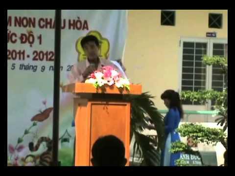 Lễ Khai Giảng Trường Mầm Non Châu Hòa 2011 - 2012.flv