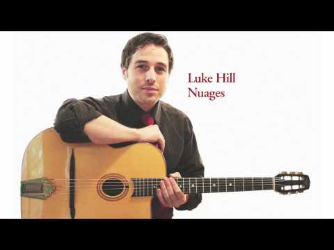 Nuages - Luke Hill - Solo Guitar - Chord Melody - Acoustic Swing Jazz