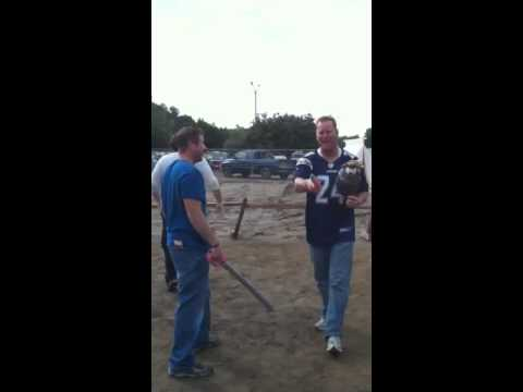 Todd Kroepel sword fighting Kevin Kohler
