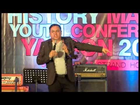 Pastor Zaw Lin Aung  @ History Maker & Youth Confrence 2014