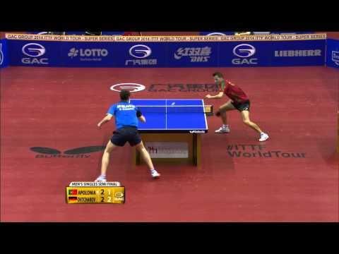 German Open 2014 Highlights: Tiago Apolonia vs. Dimitrij Ovtcharov (Semi-Final)
