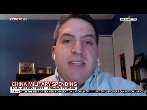 Asian Affairs Expert Abraham Denmark Talks To Sky News About China