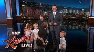 Kids Write Jokes for Jimmy Kimmel