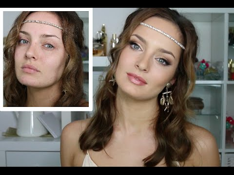 Gold/Bronze Greek Goddess Makeup Tutorial feat. Jane Iredale
