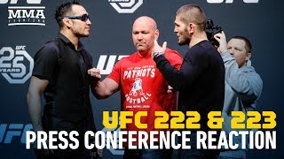 UFC 223 Press Conference Reaction - MMA Fighting