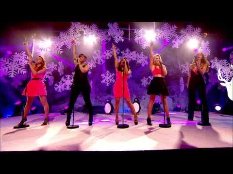 The Saturdays - What About Us (Top Of The Pops - 25th December 2013)