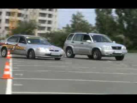 Уроки начального вождения на площадке - Школа Штурман