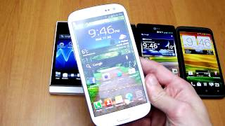 Super Smartphone Showdown (6/6): One X vs Galaxy S III vs Xperia S vs Droid Razr vs Optimus 4X HD