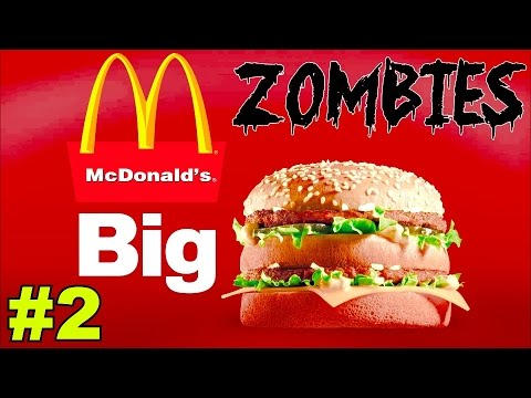 McDonald's BIG MAC McZombies! (Part 2)▐ Call of Duty World at War Custom Zombies Map/Mod
