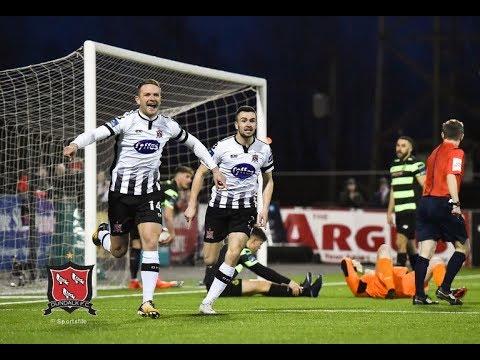 Highlights Dundalk FC 2 1 Shamrock Rovers 06 04 2018