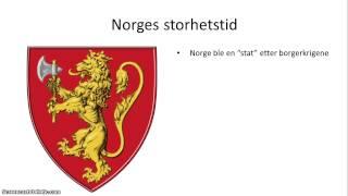 Norsk middelalder - 3/3 - Kongeriket Norge gjennom borgerkrig, storhet og nedgang