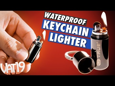 FireStash Miniature Keychain Lighter (Waterproof!)