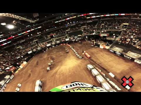 GoPro HD: Vicki Golden Moto X Gold Medal Run - Summer X Games 2012
