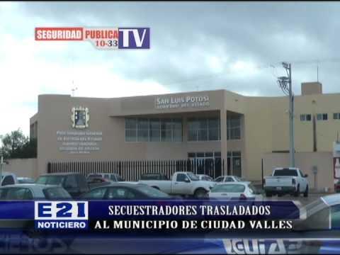 DOS PELIGROSOS REOS TRALADADOS DEL PENAL RIOVERDE AL DE CIUDAD VALLES