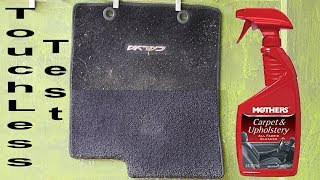 How to Clean Carpet Floor Mats : Mothers Carpet and Upholstery Cleaner