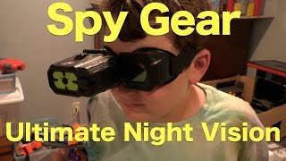 Spy Gear Ultimate Night Vision Review, See in The Dark