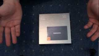 Samsung SSD 830 128GB | Unboxing und Einbau ( Teil1)