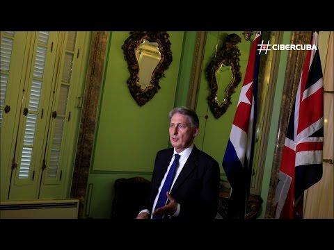 Philip Hammond, primer ministro británico en visitar Cuba desde el 59