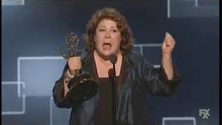 Margo Martindale wins Emmy Award for The Americans (2015)