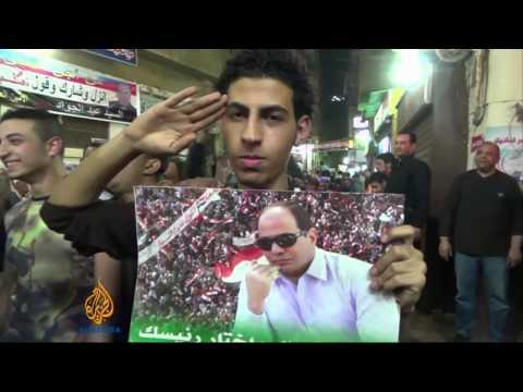 Mixed reaction to Sisi's presidential bid