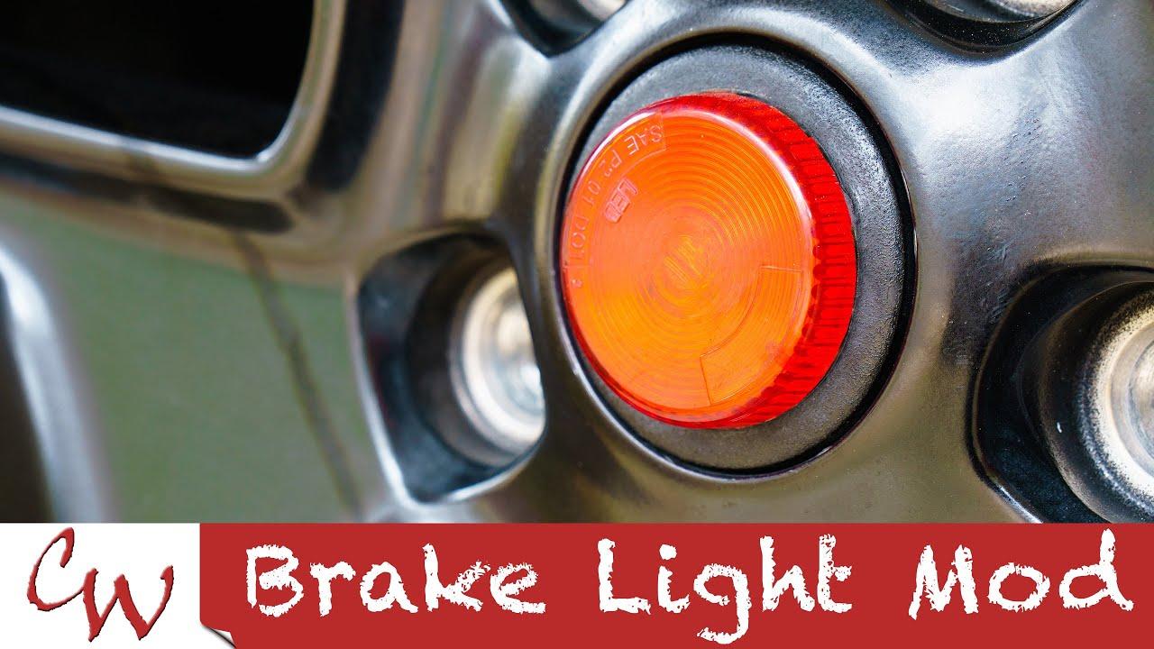 Brake Light Mod On A Jeep Wrangler Youtube