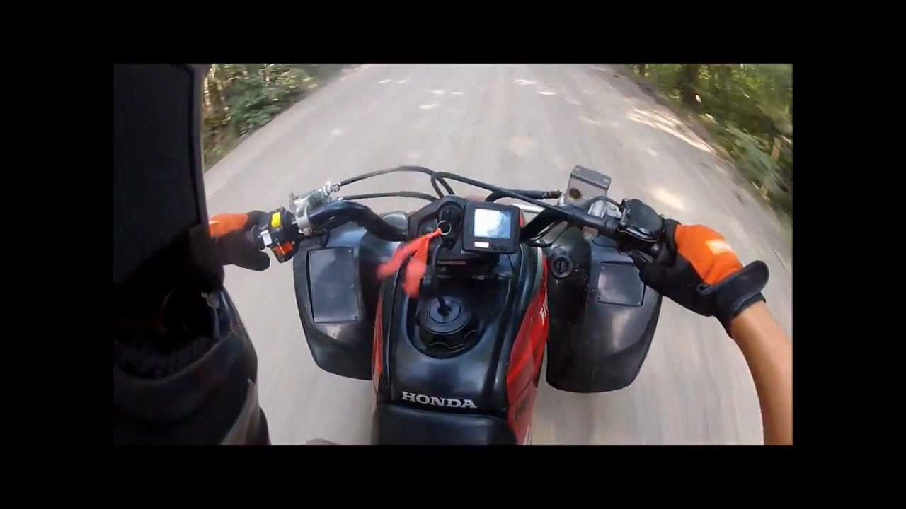 Honda trx 400ex TOP SPEED! - YouTube