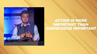 Action is more important than knowledge