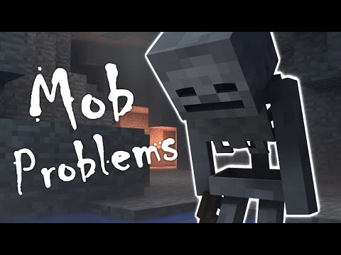 MOB PROBLEMS Spawned In A Cave - Minecraft Animation - FrediSaalAnimations