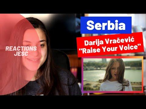 Reaction: Serbia (Junior Eurovision 2019)