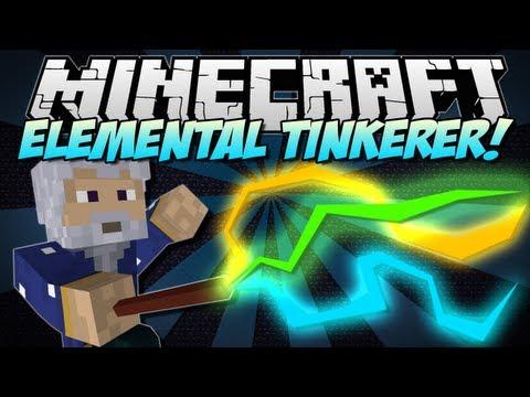 Minecraft   ELEMENTAL TINKERER! (Become a Wizard!)   Mod Showcase [1.5.1]