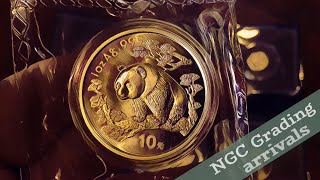 What are coin collectors grading for Christmas? | 3 PACKAGES arrive
