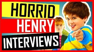 Horrid Henry: The Movie - Horrid Henry: The Movie - Interviews with Theo Stevenson, Scarlet Stitt and Ross Maron