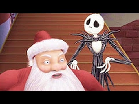 Christmas Movie: The Nightmare Before Christmas Full Movie Video Games - Cartoons Movie For Kids