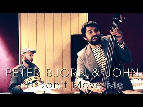 PETER BJORN AND JOHN - It Don't Move Me (Sounds of Stockholm documentary)