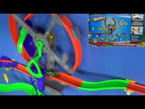 Hot Wheels Auto Motion Speedway Wall Tracks Product Review